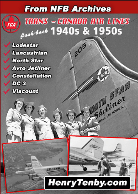 Trans-Canada Air Lines 1940s & 1950s DVD