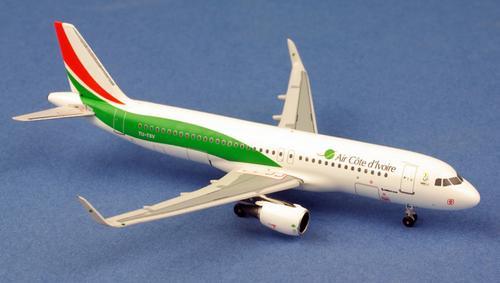 Aeroclassics 1:400 Air Cote d'Ivoire A320 (TU-TSV 1:400)