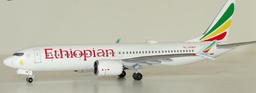AeroClassics 1:400 Ethiopian Airlines 737-8max ET-AVM