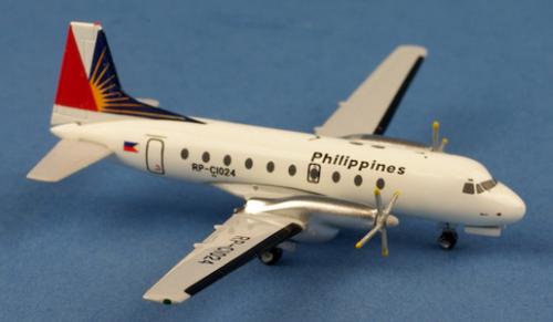 Aeroclassics 1:400 Philippines HS-748 RP-C1024 (RP-C1024)