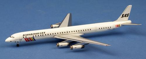 Aeroclassics 1:400 Scandinavian DC-8 LN-MOF (LN-MOF)