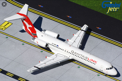 Gemini200 1:200 Qantas Link / Network Aviation Fokker 100