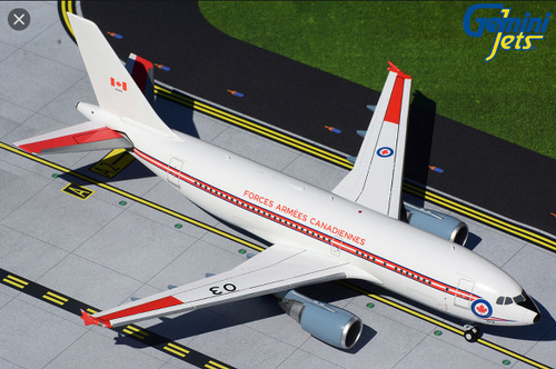 Gemini200 1:200 Royal Canadian Air Force A310-300 (white livery) A310-300