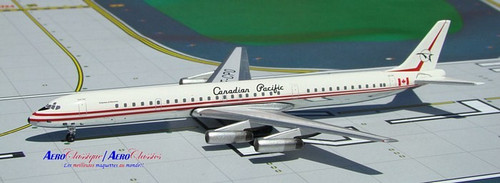 Aeroclassics 1:400 Canadian Pacific DC-8-63 CF-CPO