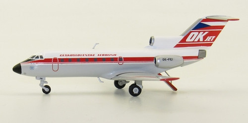 Herpa 1:200 CSA Ceskoslovenske Aerolinie Yakovlev Yak-40 (559348)