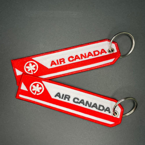 Embroidered Keychain - AIR CANADA OLD LIVERY