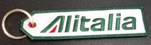 Embroidered Keychain - ALITALIA
