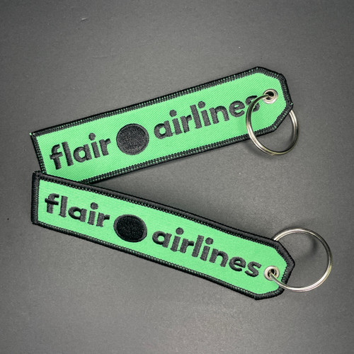 Embroidered Keychain - FLAIR AIRLINES