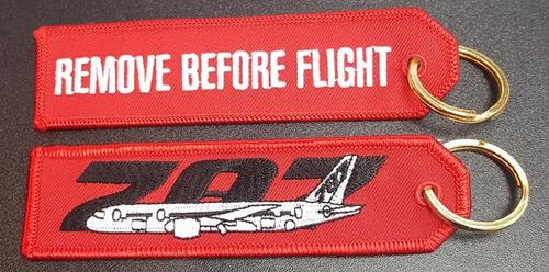 Embroidered Keychain - BOEING 787