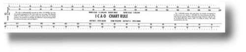 ICAO CHART RULE