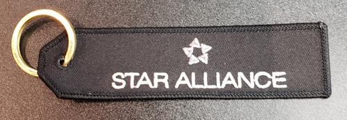 Embroidered Keychain - STAR ALLIANCE