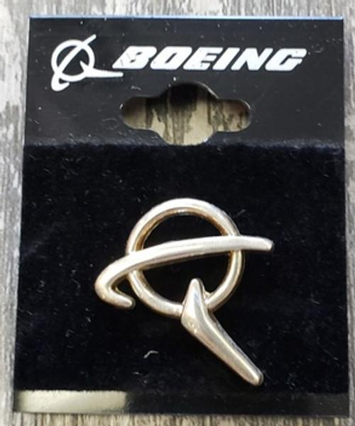 Lapel pin - Boeing Silver Symbol Pin