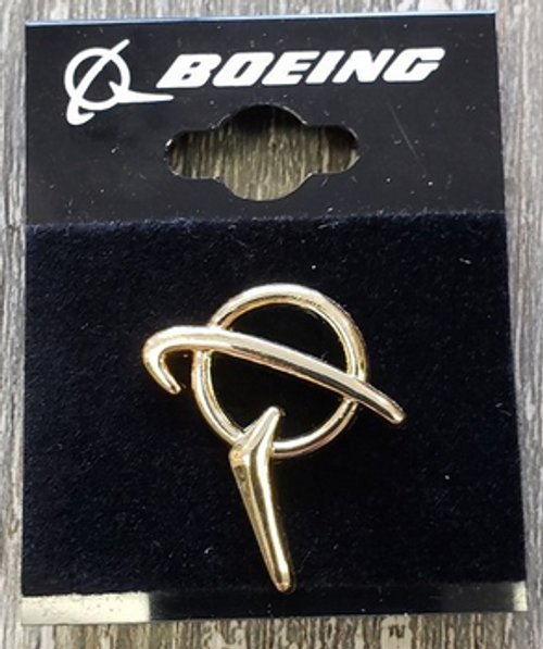 Lapel pin - Boeing Gold Symbol Pin