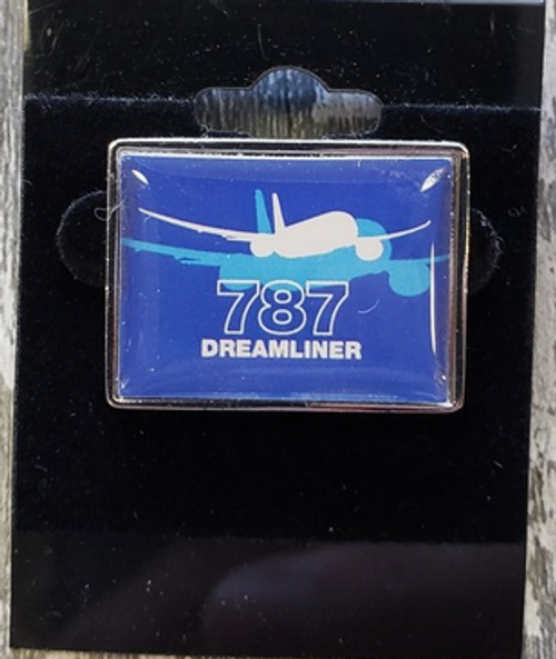 Lapel pin - Boeing 787 Shadow Graphic