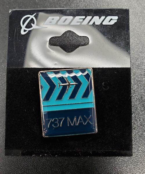 Lapel pin - 737 Max Chevron Pin