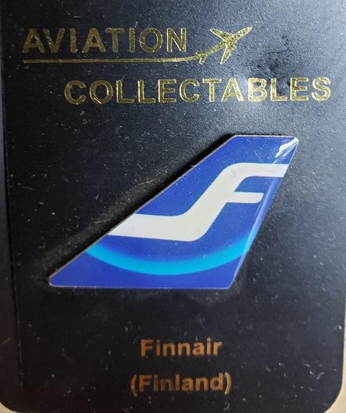 Lapel pin - Finnair tail