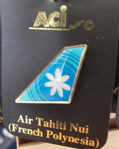 Lapel pin - Air Tahiti Nui tail
