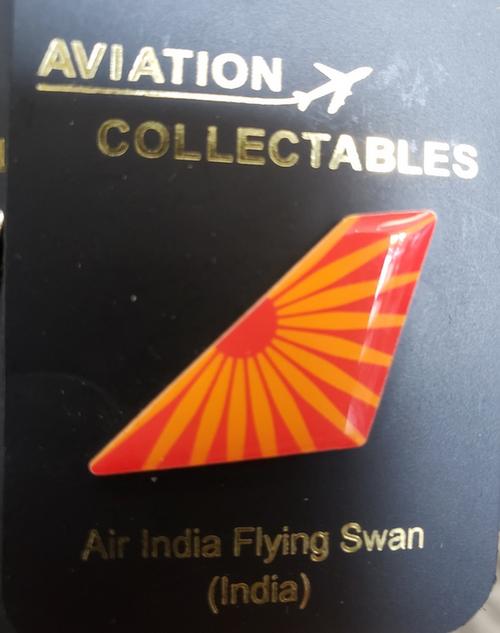 Lapel pin - Air India tail