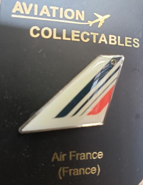 Lapel pin - Air France tail