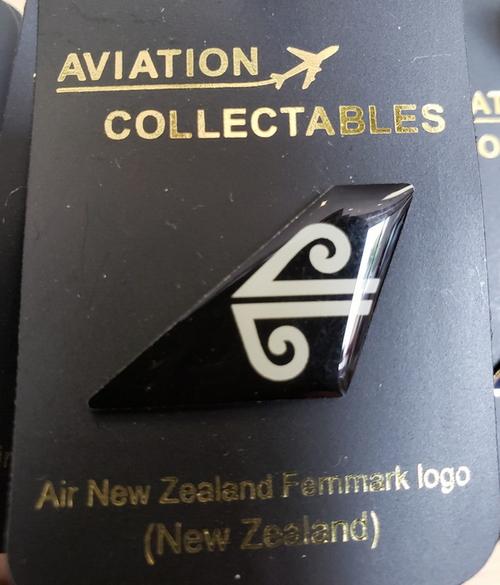 Lapel pin - Air New Zealand tail