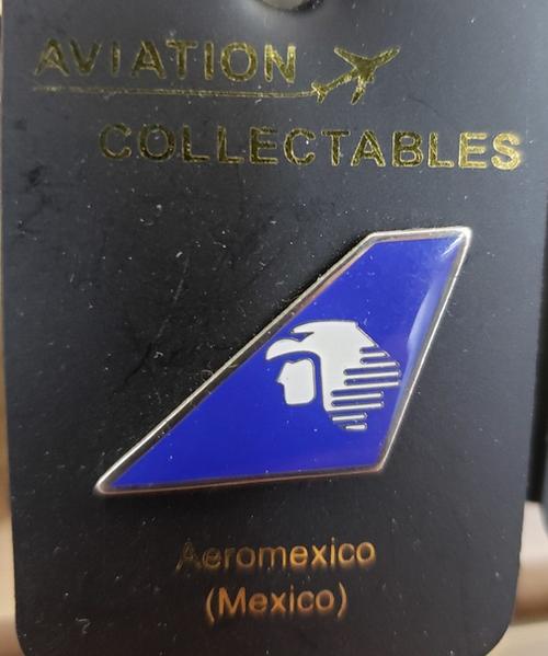Lapel pin - Aeromexico tail