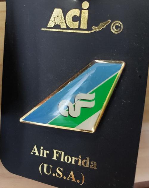 Lapel pin - Air Florida tail