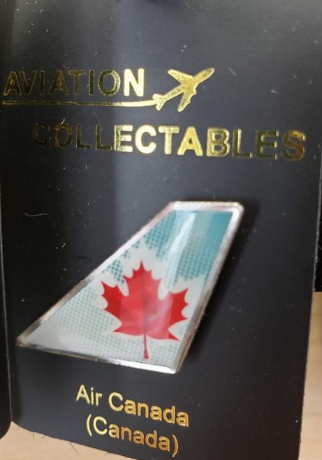 Lapel pin - Air Canada sky blue tail