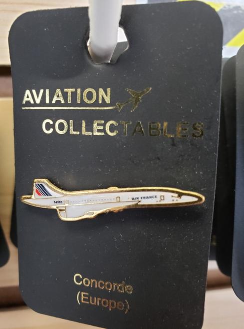 Lapel pin - Air France Concorde
