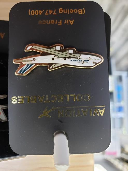 Lapel pin - Air France 747-400