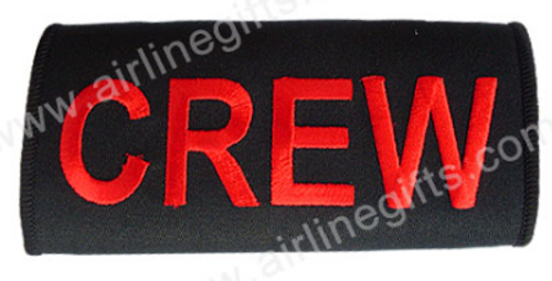 CREW Embroidered Handle Wrap (Black)