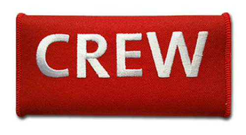 CREW Embroidered Handle wrap (Red)