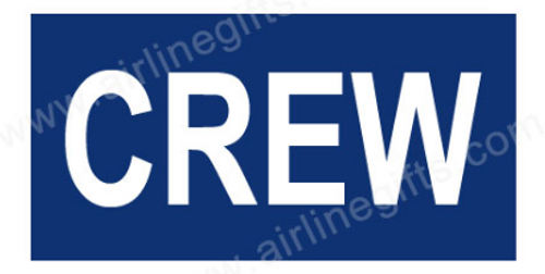 CREW Embroidered Handle Wrap (Dark Blue)