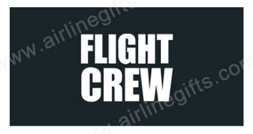 Flight Crew Embroidered Handle Wrap (Dark Blue/Black)