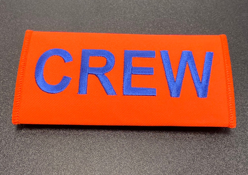 Crew Embroidered Handle Wrap (Orange)
