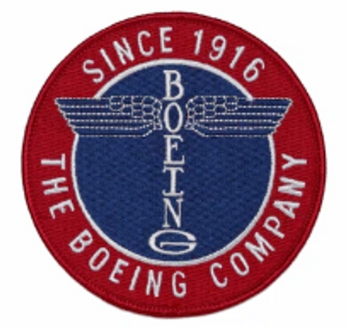 Boeing Heritage Totem Iron Patch
