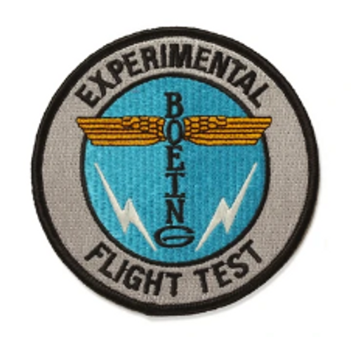 Boeing Heritage Totem Flight Test Iron Patch