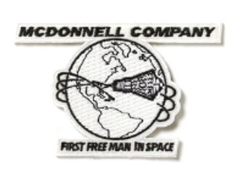 Boeing Heritage McDonnell Iron Patch