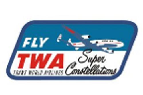 TWA Constellation Logo Iron Patch