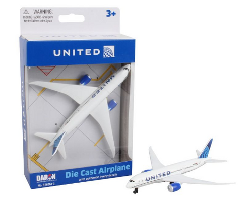 United Airlines Single Plane (New Livery)