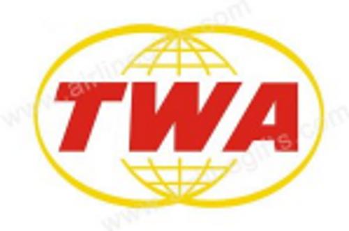 TWA Retro Logo Iron Patch