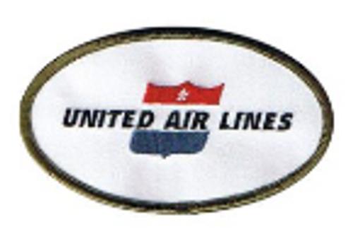 United Air Lines Retro Iron Patch