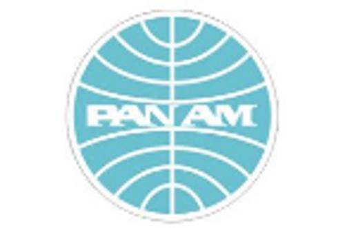 Pan Am Logo Iron Patch