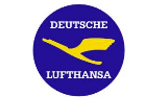 Lufthansa Retro Iron Patch