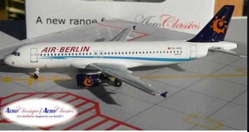 Aeroclassics 1:400 Air Berlin A320 (EC-KDD)