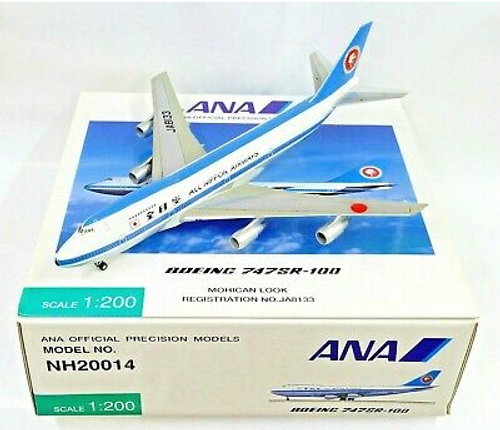 """ANA Official Precision Models 1:200 ANA 747 SR-100 """"Mohican"""""""