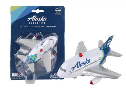 Alaska Airlines Pullback W/Light & Sound New Livery