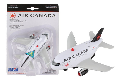 Air Canada Pullback W/Light & Sound New Livery