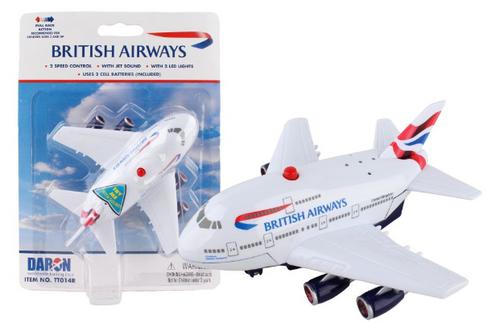 British Airways Pullback W/Light & Sound