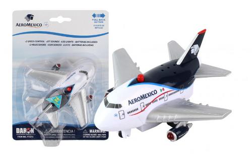 Aeromexico Pullback W/Light & Sound