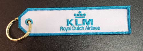 Embroidered Keychain - KLM